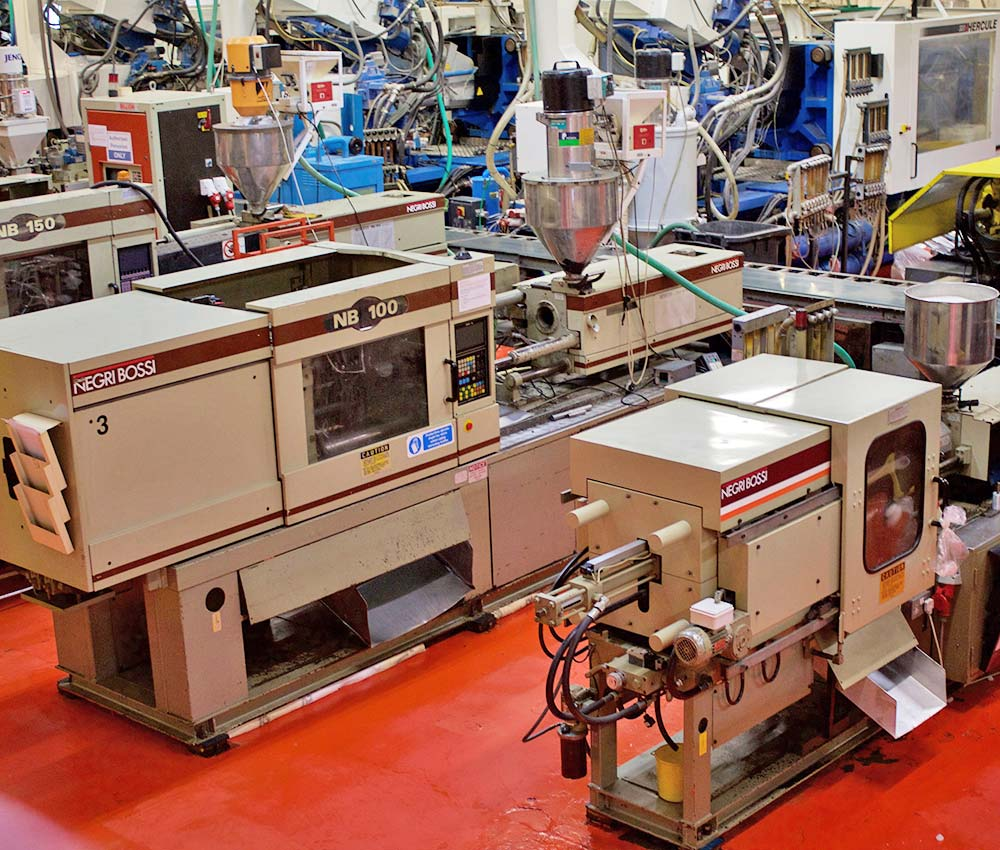 AV Injection Factory Machines